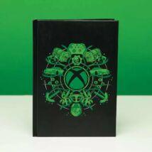 Xbox világító prémium jegyzet füzet