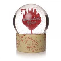 Harry Potter tekergők térképe hógömb