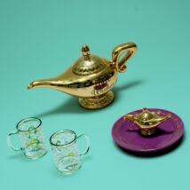 Aladdin Genie (Dzsin) lámpája teáskanna szett