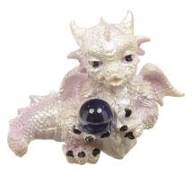 Winter Warrior sárkány - jövendőmondó szobor