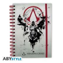 Assassin's Creed jegyzetfüzet