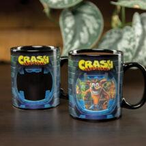 Crash Bandicoot hőre változó bögre