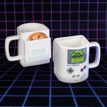 Nintendo Game Boy bögre keksz tartóval