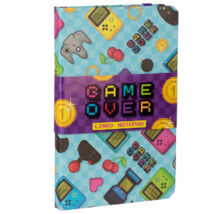 Game Over jegyzetfüzet