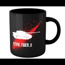 Tankfan Tiger evolúció bögre
