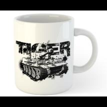 Tankfan tiger bögre