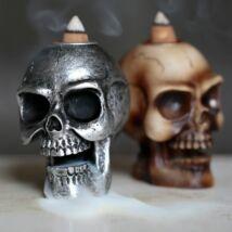 Koponyás füstölő - kétféle