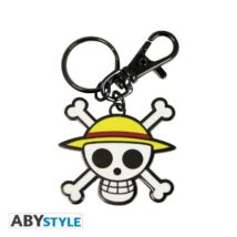 One Piece fém kulcstartó