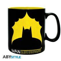 DC Comics - Bat/man nagyméretű bögre