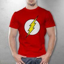 Flash logo férfi póló