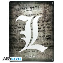 Death Note - fém tábla