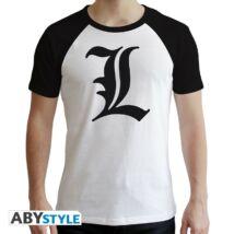 """Death Note - Prémium """"L"""" férfi póló"""