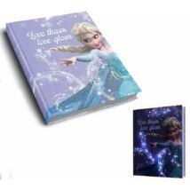 LED fénnyel világító napló Disney Frozen, Jégvarázs