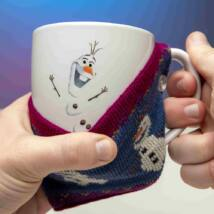 Jégvarázs - Olaf bögre levehető kötött borítással