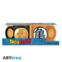 Dragon Ball - Dragon ball és Kame presszó kávé bögre szett (2db)