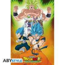 "Dragon Ball Super - Broly ""Group"" poszter"