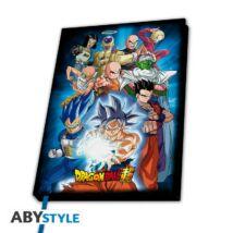 Dragon Ball Super  -  Universe 7 jegyzetfüzet
