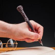 Harry Potter és Hermione varázspálca toll