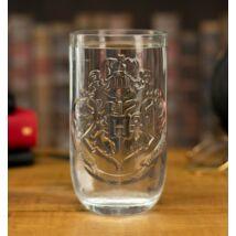 Harry Potter Hogwarts üveg pohár