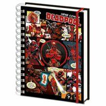 Marvel - Deadpool A5 Füzet