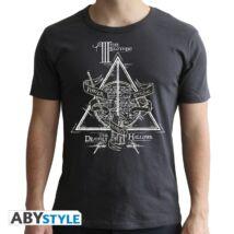 Harry Potter - Halál ereklyéi férfi póló