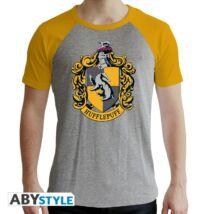 Harry Potter - Hugrabug - Prémium férfi póló