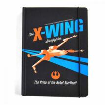 Star Wars - X Wing jegyzetfüet (A5)