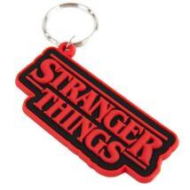 Stranger Things logó kulcstartó