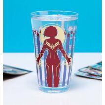 Marvel Kapitány hidegre változó pohár