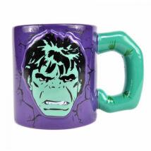 Dombornyomott Hulk bögre