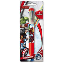 Avengers 10 színű toll