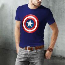 Amerika Kapitány férfi póló