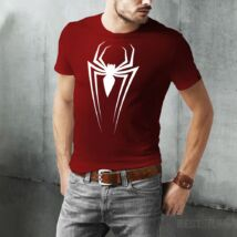 Pókember logó férfi póló