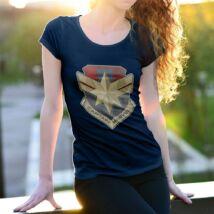 Marvel Kapitány női póló