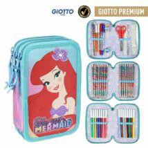 Disney Kis Hableány 3 emeletes Giotto eszközökkel töltött tolltartó