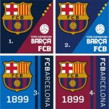 FC Barcelona arctörlő (2 db)