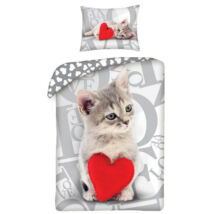Love cat cicás ágyneműhuzat