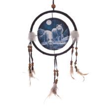 Lisa Parker - Téli harcos farkasok álomfogó 16 cm
