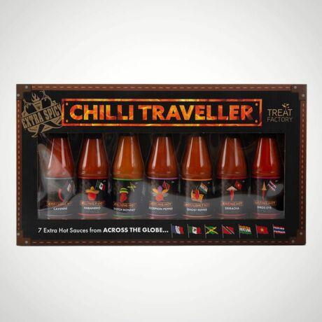 Csípős chili szósz szett - 7 különböző szósz