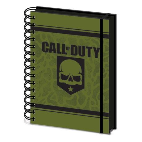 Call of Duty spirálfüzet, A5