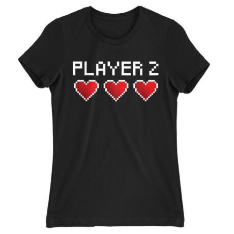Player 2 női póló