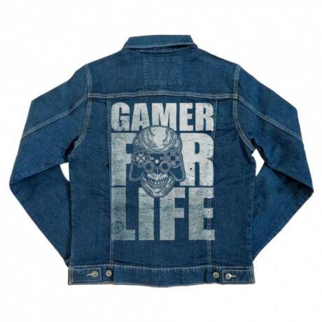 Gamer for life unisex farmerkabát