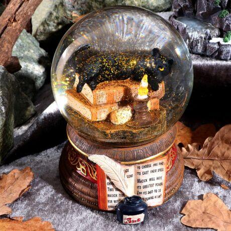 Lisa Parker - Boszorkány macska hógömb