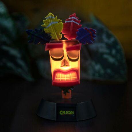 Crash Bandicoot - Uka Uka 3D ikon hangulatvilágítás