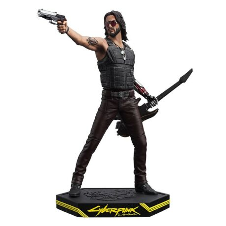 Cyberpunk 2077 - Johnny Silverhand szobor