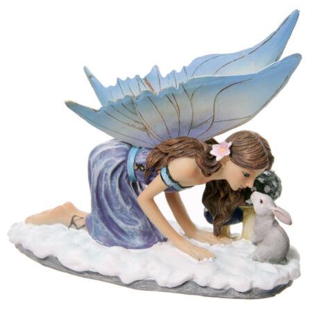 Lisa Parker - Avalon téli meséi tündéri csók figura szobor