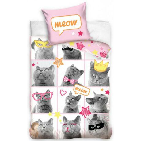 The Cat Miau cicás ágyneműhuzat