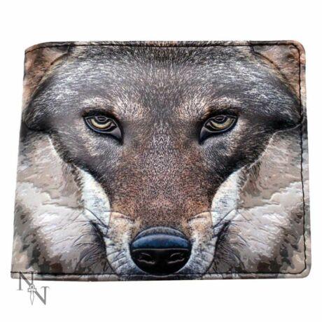 Farkas fej pénztárca