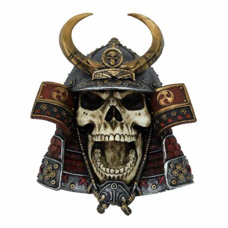 Kabuto koponya szobor