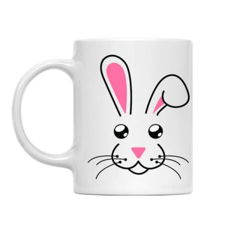 Bunny face bögre